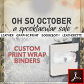 188 Print Wrap Binders or Wine Menu Binders Thumbnail